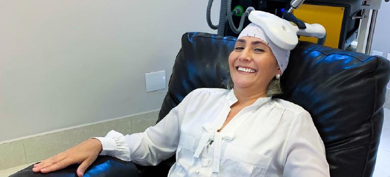 Estimulação Magnética Transcraniana (EMT):  Tratamento inovador Contra a Depressão